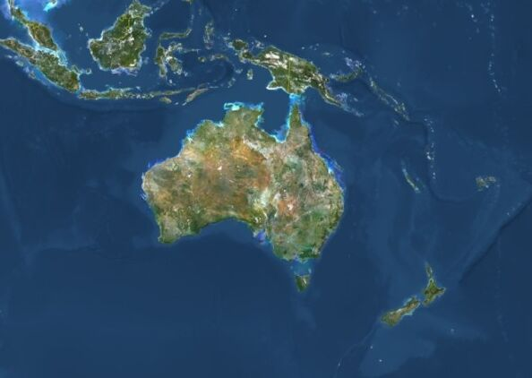 澳洲大陆再移动 坐标位置需调整 让GPS定位系统更精准